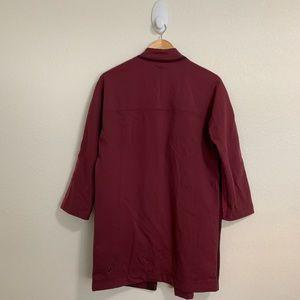 lululemon athletica Jackets & Coats - Lululemon Cocoon Car Coat Bumble Rust Berry XS